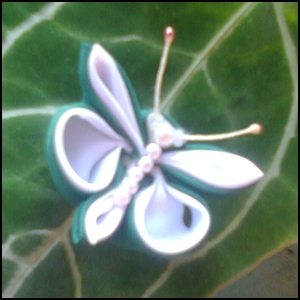Butterfly Green, Bros dari kain perca