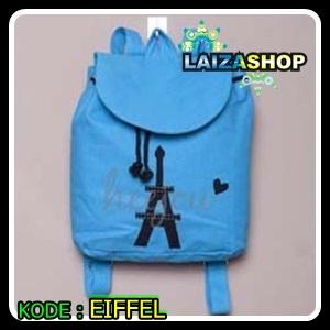 eiffel, tas motif eiffel untuk remaja