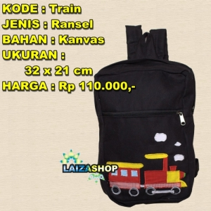 tas train, tas sekolah cewek, tas sekolah anak, tas sekolah remaja, tas remaja, tas anak, tas heejou, tas ransel terbaru, tas unik